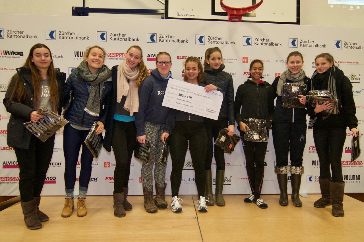 Sieger Frauen Ruderclub Zürich